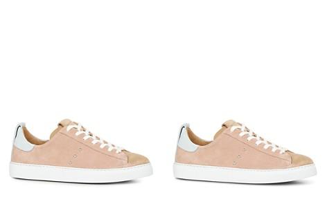 AllSaints Women's Jax Suede Low Top Lace Up Sneakers cthcV