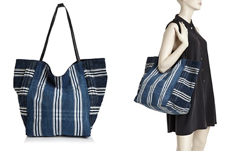 Elizabeth and James Teller Woven Tote Quality Free Shipping Low Price LVMWX