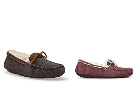 Perfect Online UGG Australia Shearling-Trimmed Suede Sandals Buy Cheap High Quality cLzqd