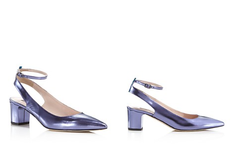 Pumps & High Heels for Women On Sale, Laguna Blue, Leather, 2017, 2.5 4 4.5 6 Sergio Rossi