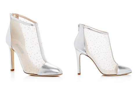 Sjp Women's High Wire Glitter Mesh High-Heel Booties - 100% Exclusive rnejkHV