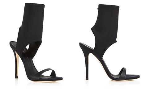 Pumps & High Heels for Women, Black, Neoprene, 2017, 4.5 Giuseppe Zanotti