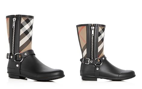 Burberry Women's Zane Signature Check Rain Boots vvtHvK