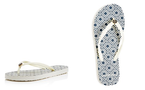 Tory Burch Woman Embellished Suede Sandals Navy Size 8 Tory Burch 9XYXLF