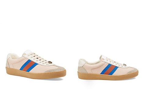 Womens Womens JBG Canvas & Suede Sneakers Gucci FEJaO