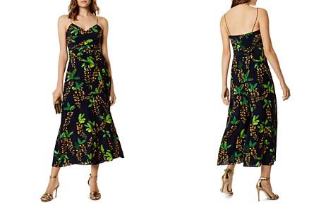 Karen Millen Embellished Wide-Leg Pants Collections CxzxIf66EC