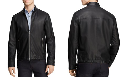 Theory Lightweight Leather Jacket Pre Order Sale Online Amazing Deals kUDFBeR