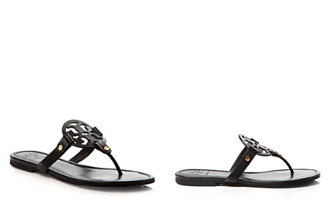 sequinned flat sandals - Black Tory Burch Free Shipping Really Huge Surprise Cheap Online High Quality Cheap Price EPFVs1