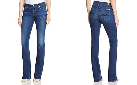 7 For All Mankind Woman Distressed Faded Low-rise Skinny Jeans Mid Denim Size 29 7 For All Mankind Outlet Wide Range Of Nicekicks Cheap Price mTzgKFDm