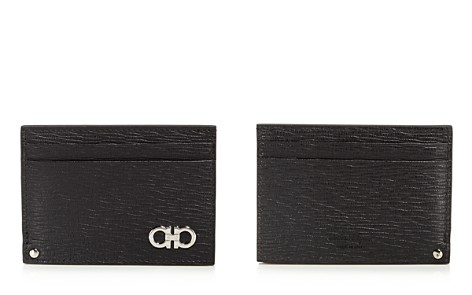 Two-tone Leather Zip Card Case - Blue Burberry swBLPnSC