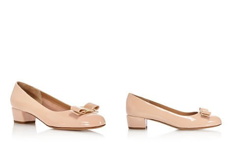 Salvatore Ferragamo Bow Nubuck Pumps Where To Buy Nice 4085OcJpq
