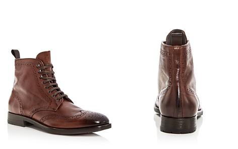 To Boot Men's Bruckner Leather Wingtip Boots OLswdCmfRm