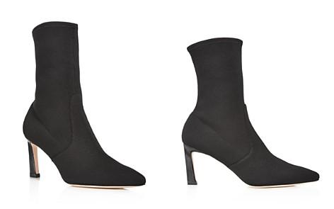 Stuart Weitzman Patent Leather Pointed-Toe Mules free shipping fake c9slobi4i