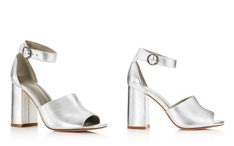 Joie Women's Lahoma Leather High Block Heel Sandals u6aQ1ahi