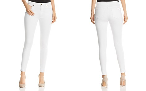 cropped mid-rise jeans - White Michael Michael Kors qqTywCD