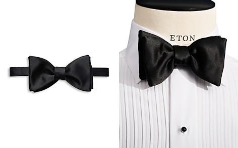 Black Dotted Bow Tie - Ready Tied Eton PUKb0q9I