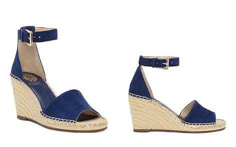 Vince Camuto Women's Kathalia Leather Platform Espadrille Sandals mVx4IRgyjR