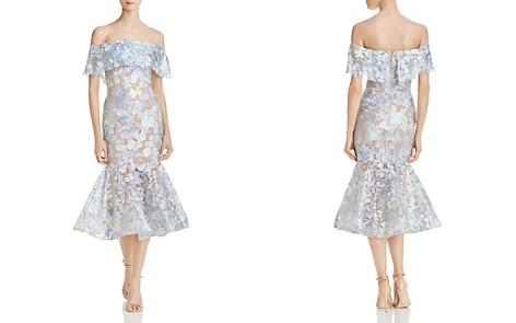 Venice Midi Dress in Baby Blue. - size M (also in L,S,XS) Bronx and Banco