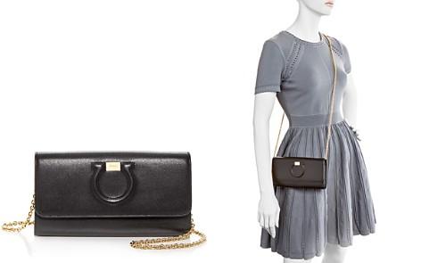 Shoulder Bag for Women On Sale, Light Rose, Leather, 2017, one size Salvatore Ferragamo