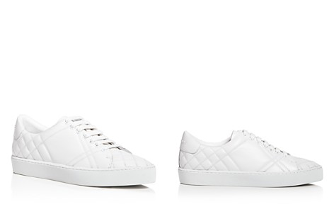 Burberry Women's Westford Quilted Leather Lace Up Sneakers R4Aaaph