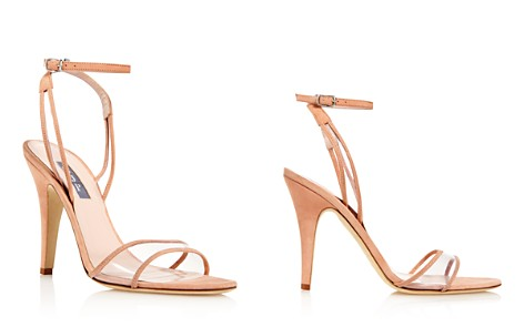 Sjp Women's Queen Suede Illusion High-Heel Sandals - 100% Exclusive ibeg69iG
