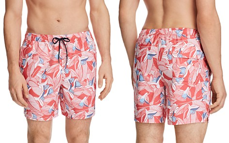Printed Swim Short - Riviera Only & Sons Pictures Cheap Price Free Shipping Cheap Online XPg9Q0