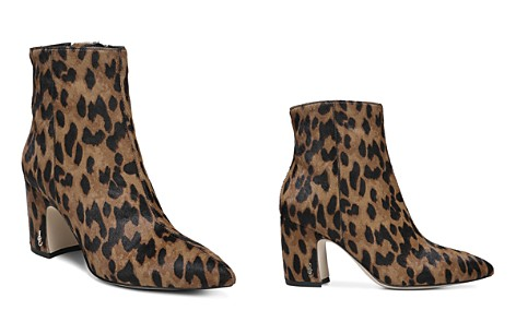 Sam Edelman Women's Hilty Leopard Print Calf Hair Booties - Bloomingdale's_2