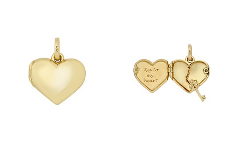 Links of London 18K Yellow Gold Heart Locket Charm - Bloomingdale's_2