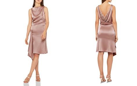 REISS Serenella Draped Satin Dress - Bloomingdale's_2