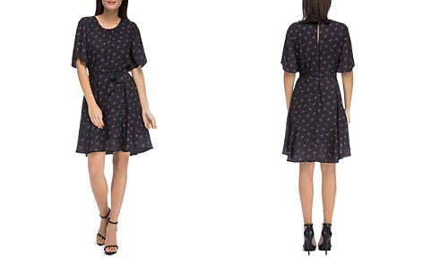 B Collection by Bobeau Alissa Printed A-Line Dress - Bloomingdale's_2