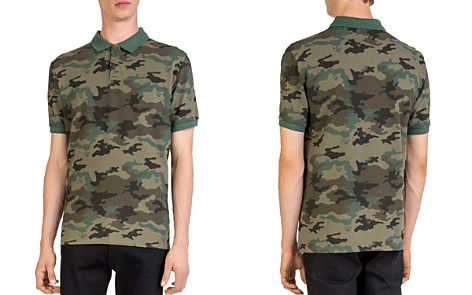 The Kooples Camouflage Regular Fit Polo - Bloomingdale's_2