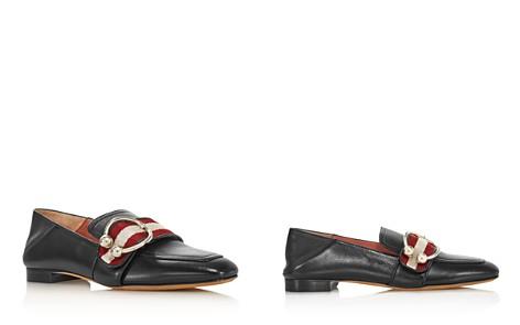 Bally Women's Malinda Almond Toe Leather Loafers - Bloomingdale's_2