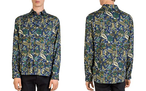 The Kooples Creeps Jungle Button-Down Shirt - Bloomingdale's_2