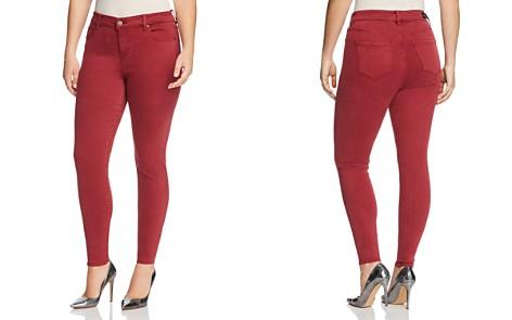 Liverpool Plus Abby Skinny Jeans in Biking Red - Bloomingdale's_2