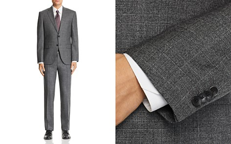 BOSS Johnstons/Lenon Mélange Tonal Plaid Wool Suit - 100% Exclusive - Bloomingdale's_2