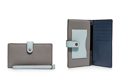 COACH Leather Smartphone Wristlet - Bloomingdale's_2