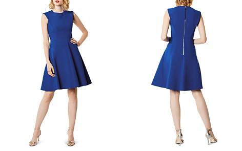 Karen Millen Sculptured Fit-and-Flare Dress - 100% Exclusive - Bloomingdale's_2