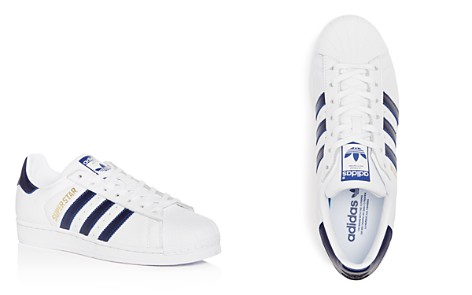 Adidas Men's Superstar Leather Lace Up Sneakers - Bloomingdale's_2