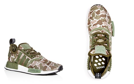 Adidas Men's NMD R1 Camo Print Lace Up Sneakers - Bloomingdale's_2