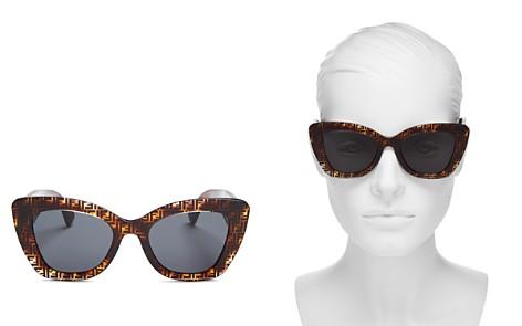 Fendi Women's Cat Eye Sunglasses, 52mm - Bloomingdale's_2