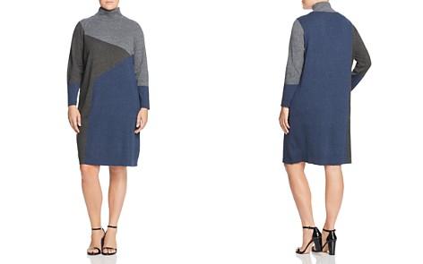 NIC+ZOE Plus Color Block Sweater Dress - Bloomingdale's_2