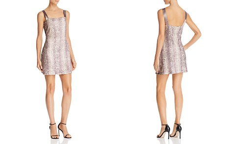 Ramy Brook Adrian Sequin Snake Mini Dress - Bloomingdale's_2