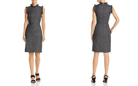 Rebecca Taylor Ruffled Herringbone Dress - Bloomingdale's_2