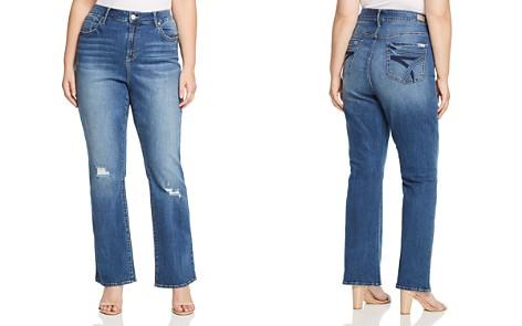 Seven7 Jeans Plus Distressed Jeans in Reeves - Bloomingdale's_2