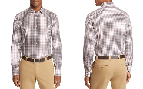 Canali Checked Regular Fit Sport Shirt - Bloomingdale's_2