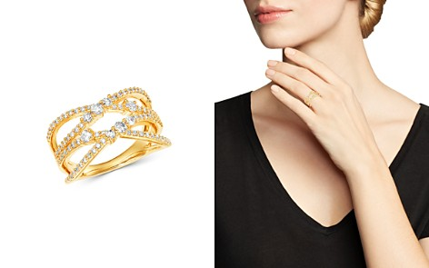 Bloomingdale's Diamond Crossover Ring in 14K Yellow Gold, 0.75 ct. t.w. - 100% Exclusive_2