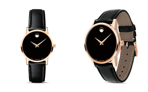 Movado Museum Classic Rose Gold-Tone Case Watch, 28mm - Bloomingdale's_2