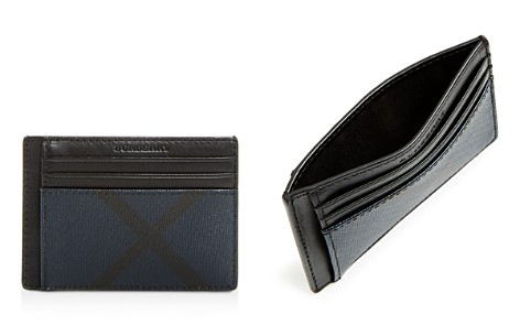 Burberry Chase London Check Money Clip Card Case - Bloomingdale's_2