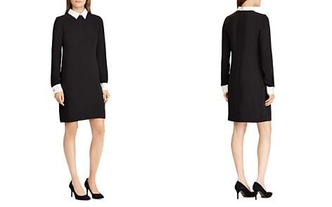 Lauren Ralph Lauren Contrast Shift Dress - Bloomingdale's_2