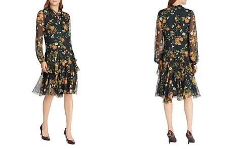 Lauren Ralph Lauren Floral Print Tie-Neck Dress - Bloomingdale's_2